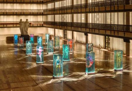 Dustin Yellin Infills Lincoln Center With Glass Dancers For The Nyc 01