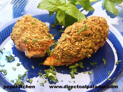 Receta de pechugas de pollo crujientes al horno