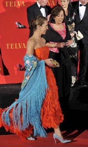 Infanta Elena: Premios Telva 2010