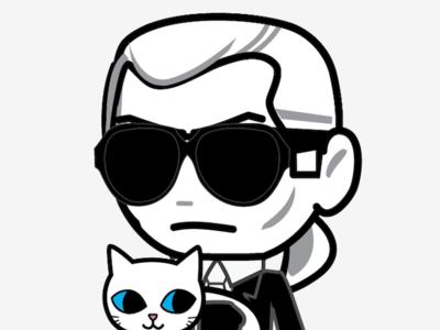 Mr. Choupette, para tener al señor Karl Lagerfeld en la mesita de noche