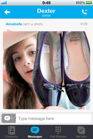 skype compartir fotos