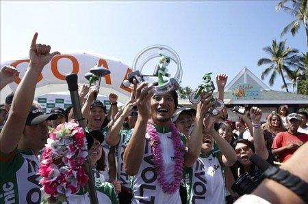 Evolta finaliza con éxito el triathlon Ironman de Hawaii. Imagen de la semana