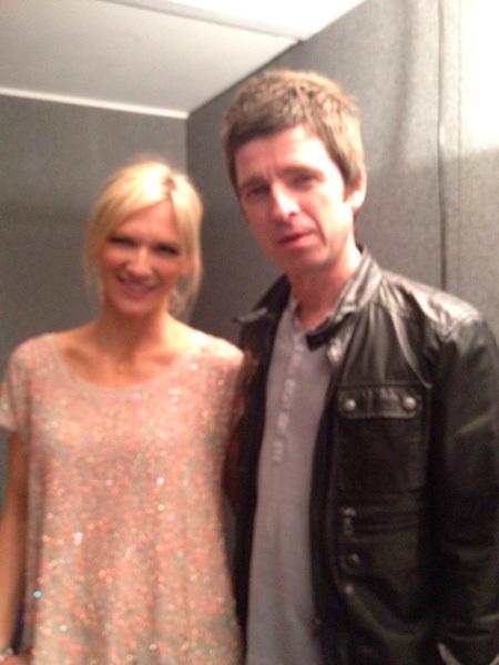Noel Gallagher  en los Brit Awards