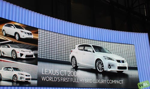 Foto de Embelezzia en la presentación mundial del Lexus CT 200h (17/24)