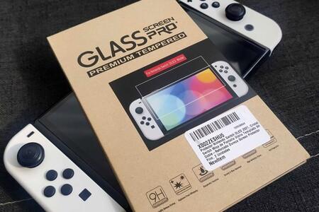 Estas micas de cristal templado en Amazon México podrán proteger la exquisita pantalla de tu Nintendo Switch OLED por 199 pesos