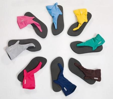 Más calzado híbrido, ahora la chancla bota