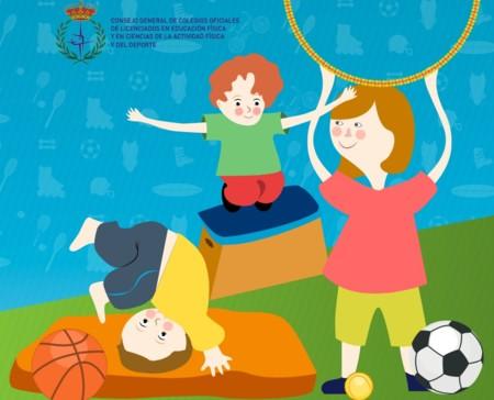 Consejos actividad física niños