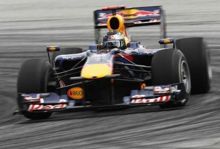 El secreto del Red Bull RB6 podría estar en el gas comprimido