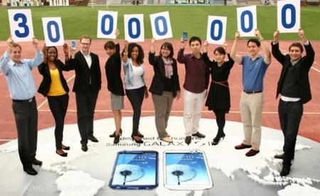 Samsung supera los 30 millones de Samsung Galaxy S III vendidos desde su lanzamiento