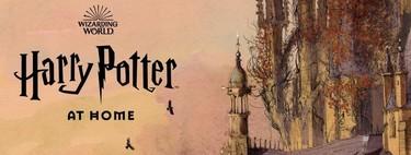 'Harry Potter at Home', la web para que los fans de Harry Potter se diviertan y aprendan durante la cuarentena