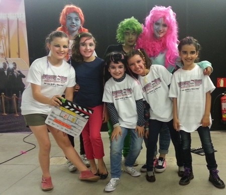 La película de Monster High que rodaron los peques para celebrar el estreno de ¡Monstruos, cámara, acción!