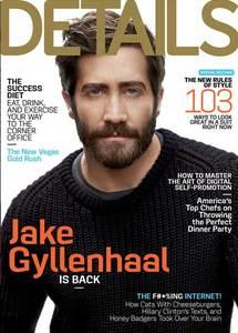 Jake Gyllenhaal deja claro que la barba está de moda en la portada de Details