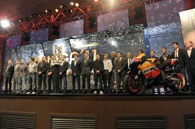 El Campeonato del Mundo de MotoGP 2011 termina con la Ceremonia de Premios FIM