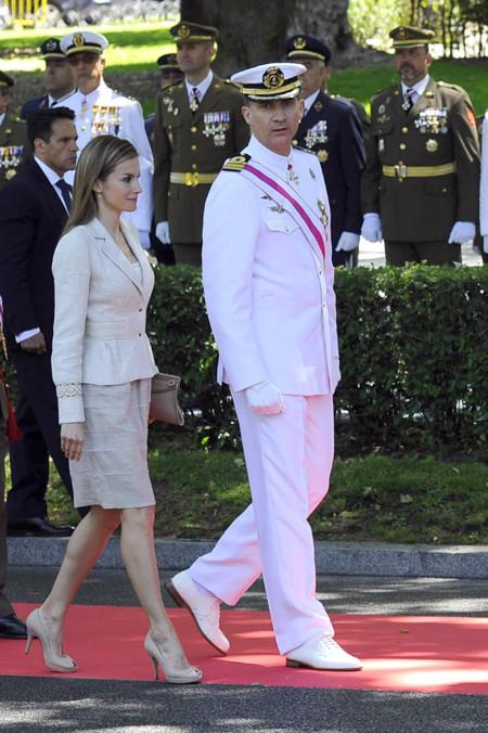 la Princesa Letizia en el Día de las Fuerzas Armadas