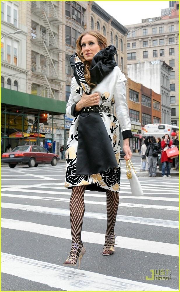 Foto de Más imágenes de Sarah Jessica Parker en el rodaje de la película de Sexo en Nueva York (2/5)