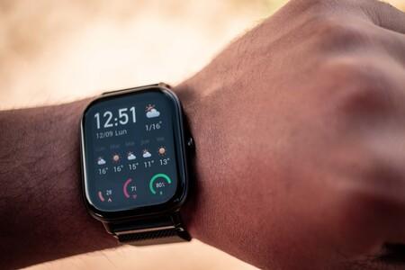 Amazfit GTS: el reloj inteligente de Xiaomi con 'estética Apple Wacth' y dos semanas de autonomía que puedes comprar por menos de 95 euros