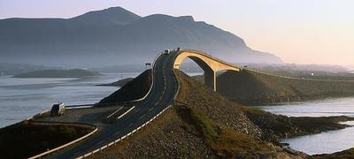 La carretera del Atlántico, Noruega
