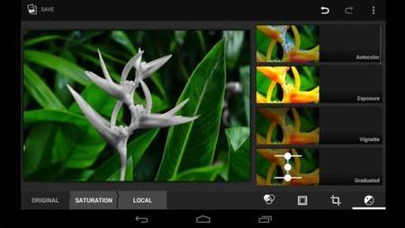 Android 4.4 Kit Kat cuenta con un editor de imágenes muy potente
