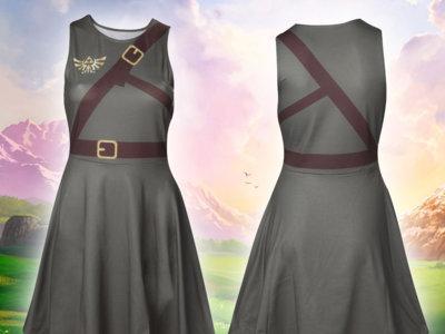 Merchoid ha añadido una colección 2016 de artículos de Zelda, incluído un vestido de Link