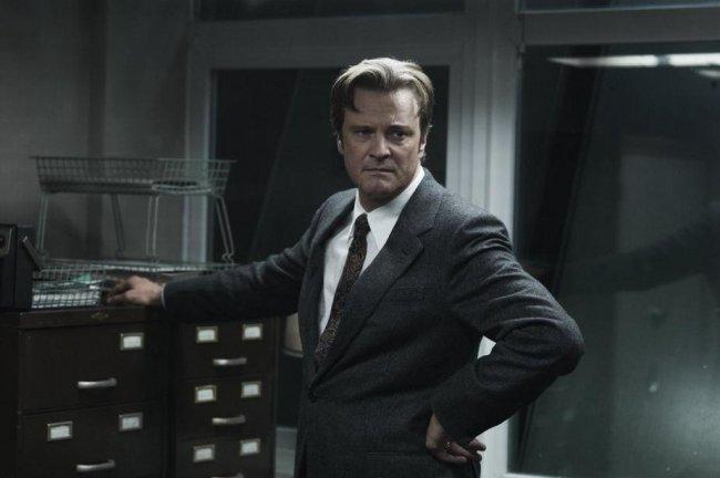 Colin Firth en 'El topo'