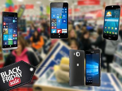 Se acerca el Black Friday y estos son algunos de los móviles con Windows Phone más interesantes del mercado