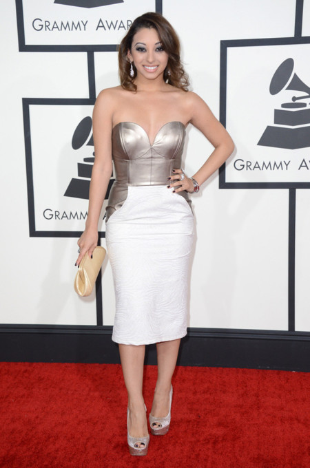 Desiree Estrada Grammy 2014