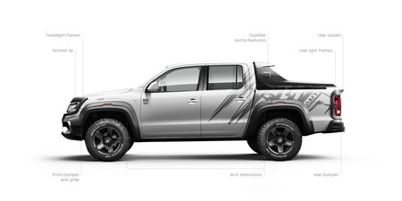 Vw Amarok Amy Bodykit Infographic En