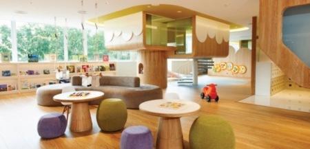 SPRING by Joey Ho Design, un espacio decorado para niños que huye de los tópicos