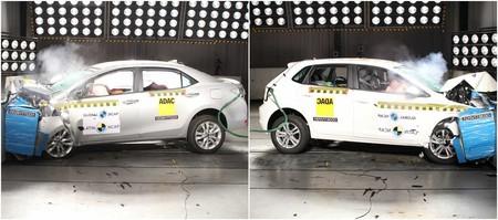 El nuevo Volkswagen Polo hecho en Brasil y el Toyota Corolla se llevan 5 estrellas de Latin NCAP