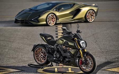 La Ducati Diavel 1260 se viste de Lamborghini Sián para esta brutal remesa limitada a 630 motos