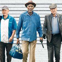 'Un golpe con estilo', tráiler de la comedia con Morgan Freeman, Michael Caine y Alan Arkin