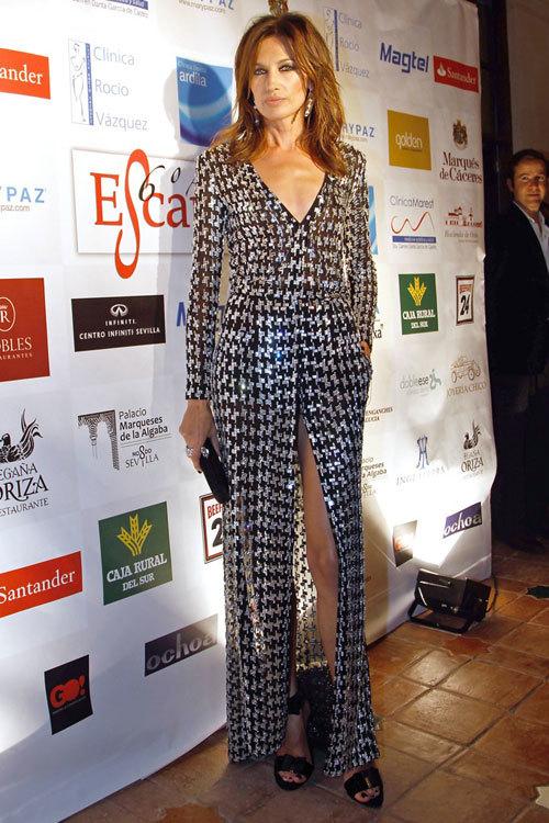 Nieves Álvarez, la elegancia personificada