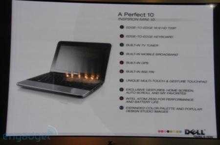 Dell Inspiron Mini 10, ultraportátil completo
