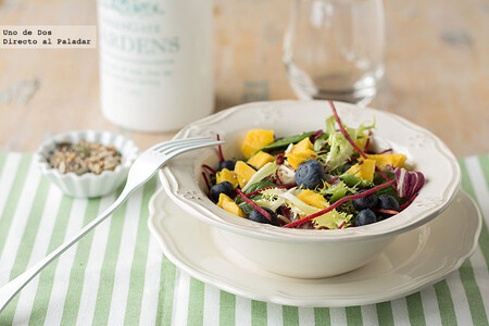 43 ensaladas con fruta para sumar vitaminas a tu alimentación