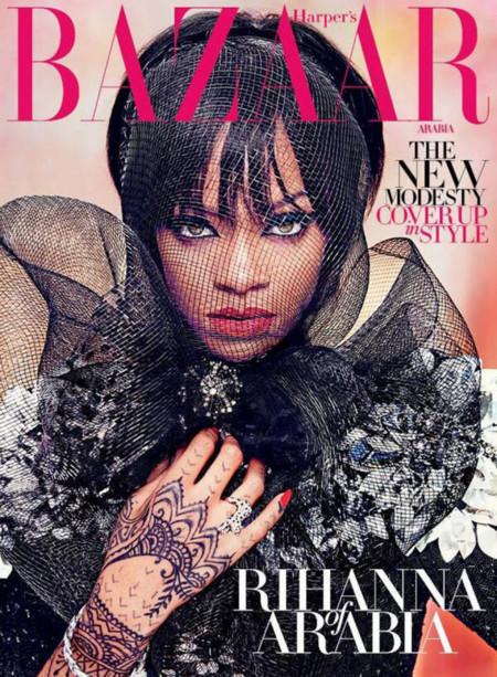 La Chanteuse En Couverture De Harper S Bazaar