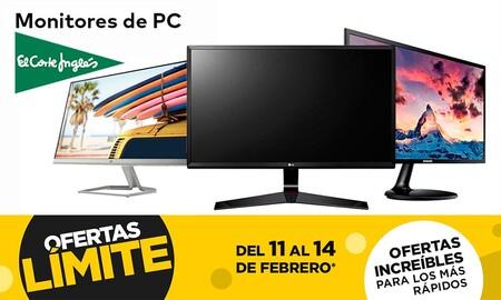 En las ofertas Límite 48 Horas de El Corte Inglés puedes comprar estos 13 monitores de HP, LG, MSI, Philips o Samsung con descuentos de hasta el 25%