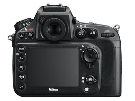 Nikon D800 pantalla trasera