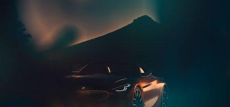 ¡Míralo bien! Esta es la primera imagen oficial del BMW Z4 Concept que se presentará en Pebble Beach