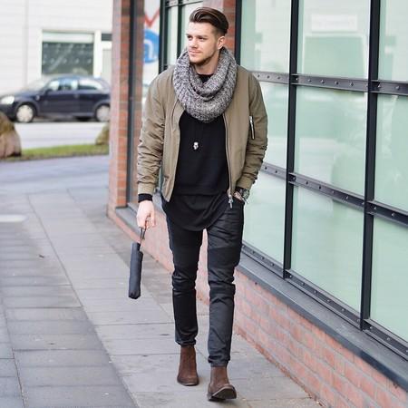 El Mejor Street Style De La Semana El Renacer De La Bomber Jacket Retoma Las Calles 13