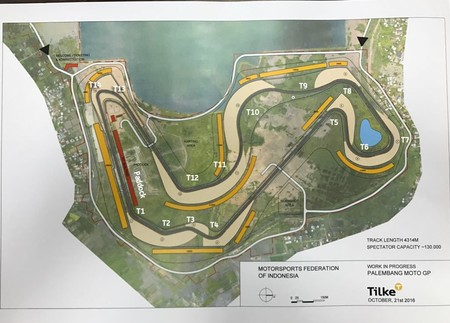 Indonesia New Circuit Motogp