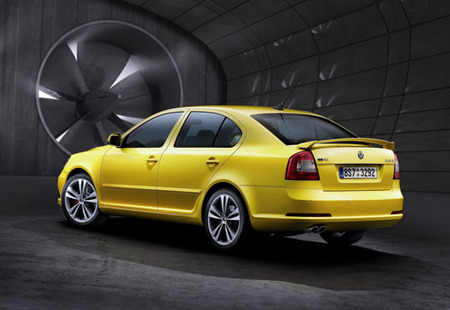 Škoda Octavia RS y Scout, información y primeras imágenes