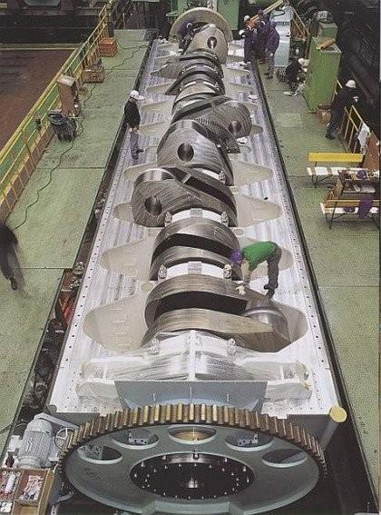 el motor diesel mas potente del mundo