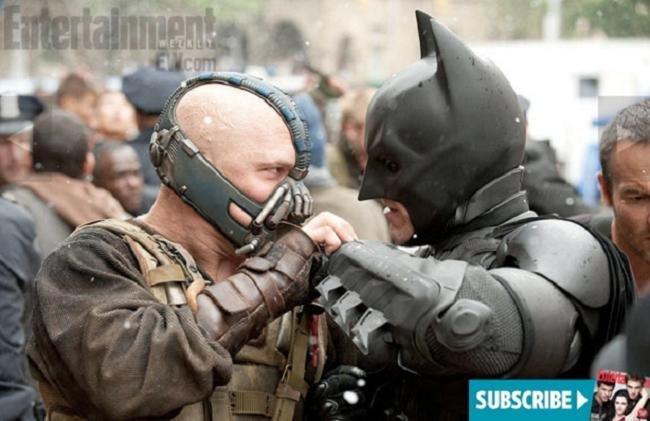 Estarán bailando Bane y Batman?