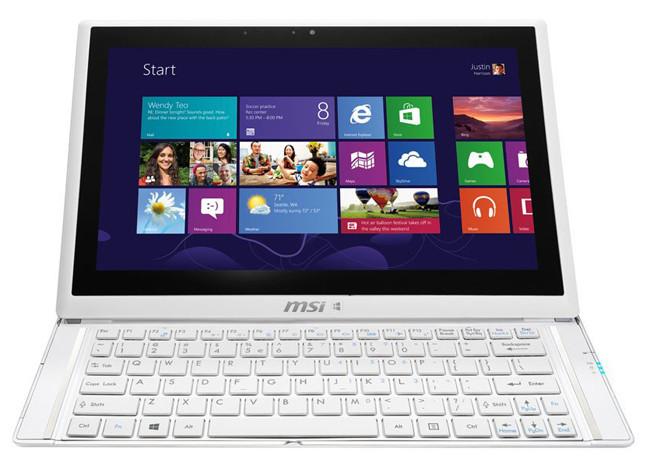 MSI S20 Slider 2, renovación de la tablet Windows 8 con teclado deslizante