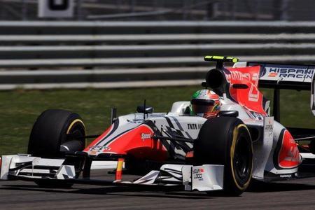 """Vitantonio Liuzzi: """"superar a Team Lotus significaría que HRT ha tenido una temporada perfecta"""""""