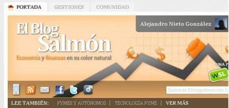 Actualizamos El Blog Salmón con pestañas de contenidos y mejoras en el sistema de votaciones