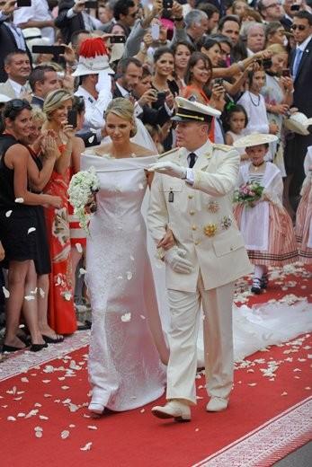 ¡¡Alberto de Mónaco y Charlene Wittscock ya son (de nuevo) marido y mujer!!
