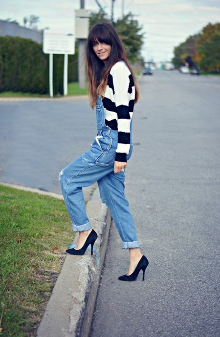 Jersey rayas peto moda