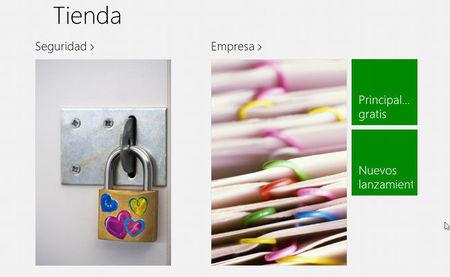 Tienda de aplicaciones de Windows 8