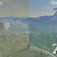 Un vídeo compara las diferencias entre The Legend of Zelda: Breath of the Wild en Nintendo Switch y Wii U